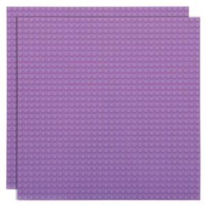 Duopak bouwplaat Lavendel - 32 x 32 cm