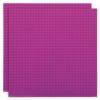 Duopak bouwplaat Magenta - 32 x 32 cm