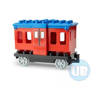 duplo trein wagon rood