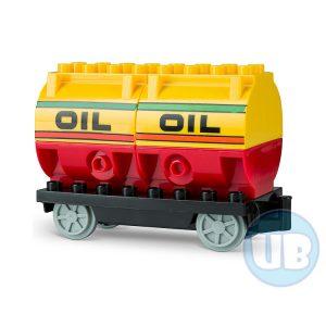 duplo trein wagon olie tanker
