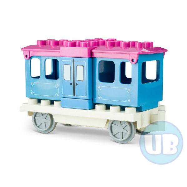 duplo trein wagon roze