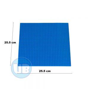 Lego Classic bouwplaat blauw - 25,5 x 25,5 cm