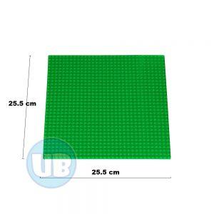 lego Classic bouwplaat groen - 25,5 x 25,5 cm