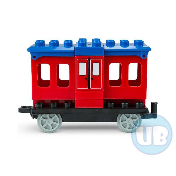 duplo trein wagon rood - 1