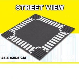 lego city wegenplaat kruising