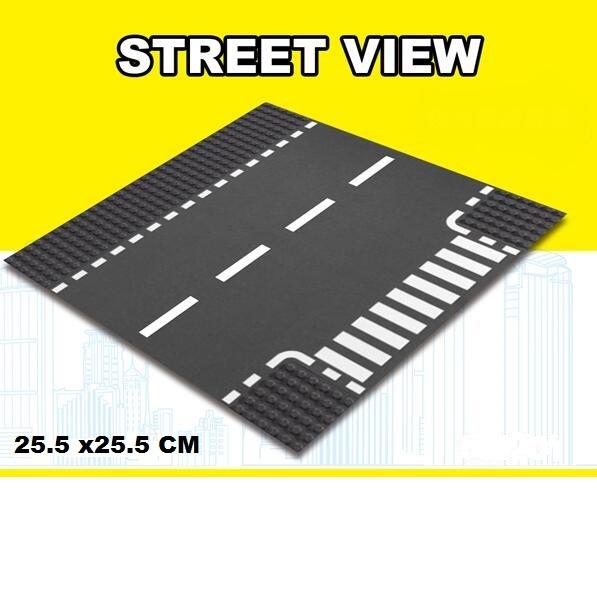 lego city wegenplaat t spliting