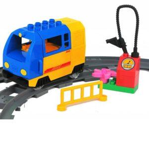 Duplo Elektrische goederen trein blauw
