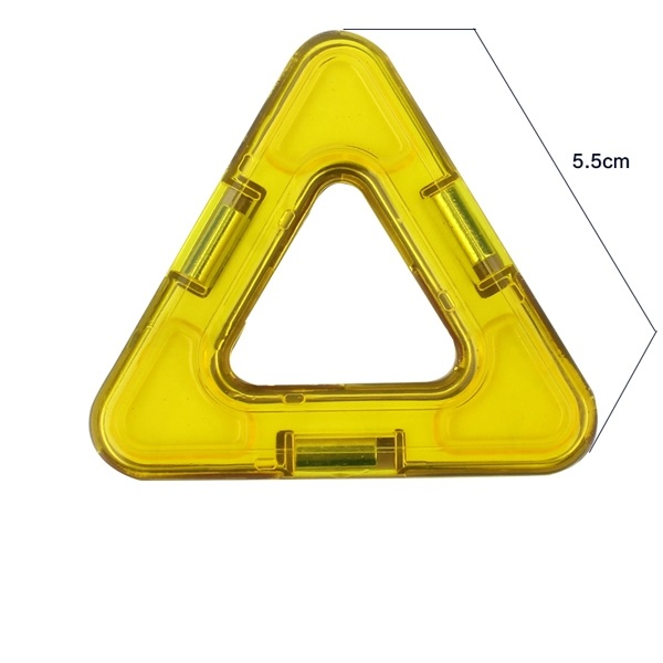 magnetisch bouwblok los onderdeel driehoek