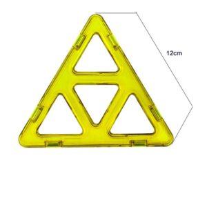 magnetisch speelgoed los onderdeel vier driehoek