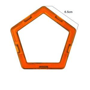 magnetisch speelgoed los onderdeel vijfhoek
