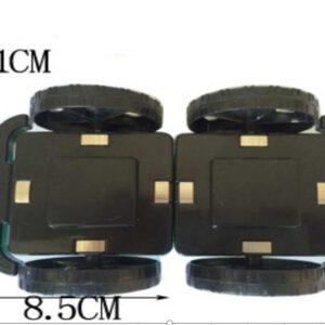 magnetisch speelgoed los onderdeel wielen onderstel