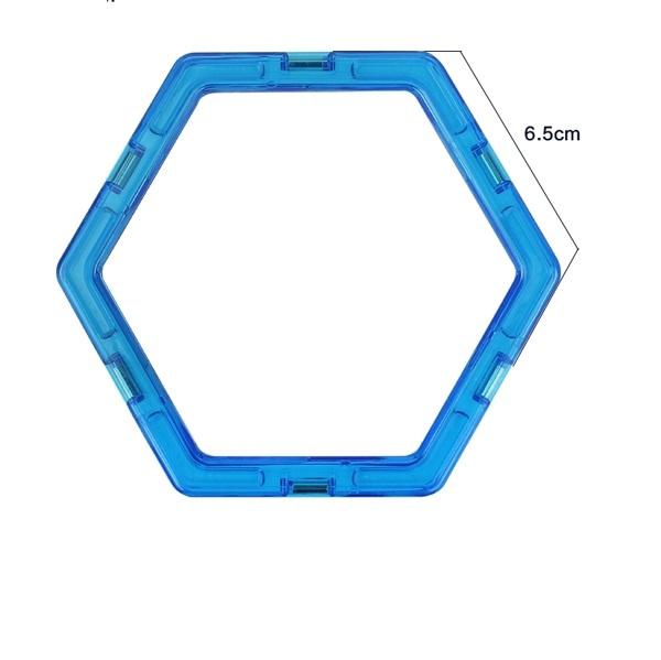 magnetisch speelgoed los onderdeel zeshoek