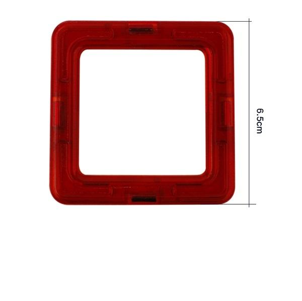 Magnetisch speelgoed los onderdee vierkant
