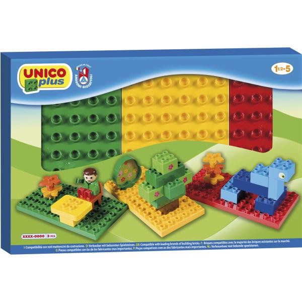 Unico Bouwplaten 3 stuks