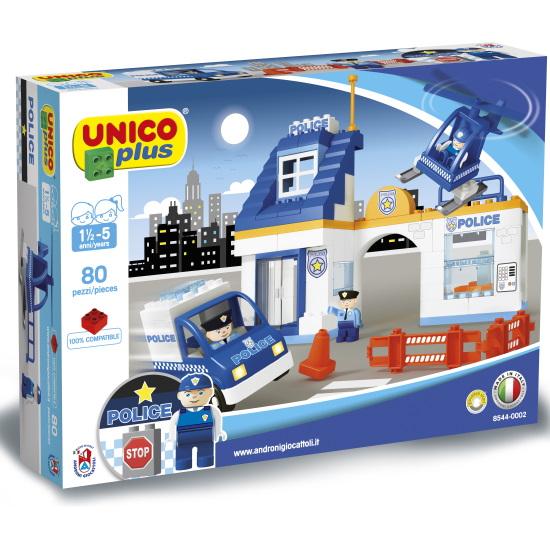 Duplo Unico Plus politiebureau - 80 delig - 8544 - 1
