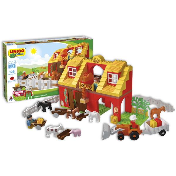Unico Plus boerderij - 126 delig - 8557 -1