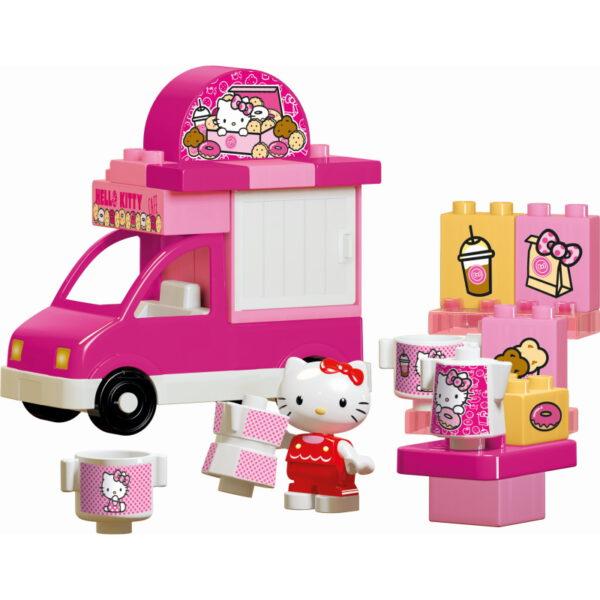 Duplo Hello Kitty ijsco wagen - 26 delig - 8693 -1