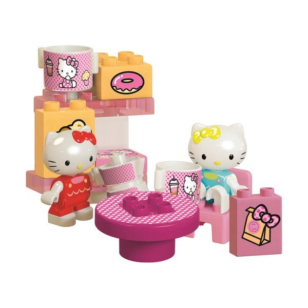 Duplo Hello Kitty koffie bar speelset - 45 delig - 8694 - 2