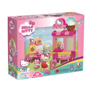 Duplo Hello Kitty koffie bar speelset - 45 delig - 8694