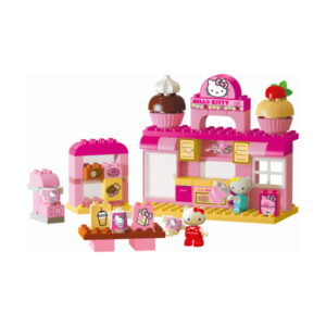 duplo Hello Kitty koffie salon speelset - 82 delig - 8695 - 2
