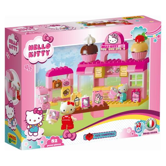 duplo Hello Kitty koffie salon speelset - 82 delig - 8695