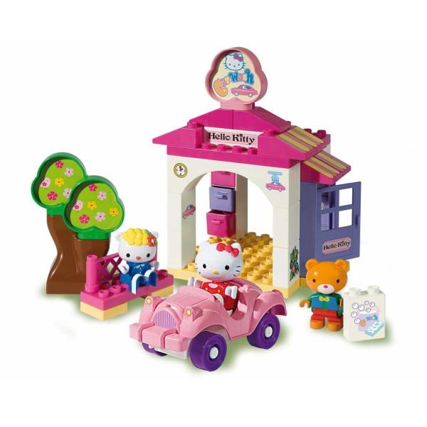 Hello Kitty auto wasstraat - 42 delig