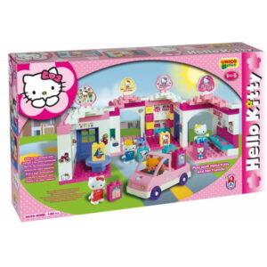 Hello Kitty huis - 140 delig - 1