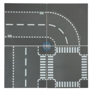 City wegenplaten voordeel pakket 4 stuks