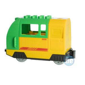 Duplo Elektrische trein groen uniblocks