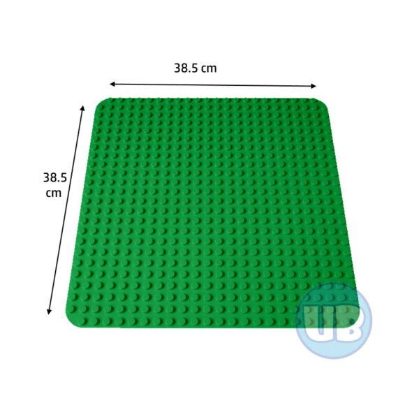 duplo Grote bouwplaat donkergroen - 38,5 x 38,5 cm