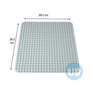 duplo Grote bouwplaat lichtgrijs - 38,5 x 38,5 cm