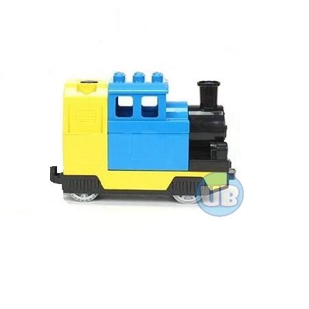 duplo elektrische stoom trein