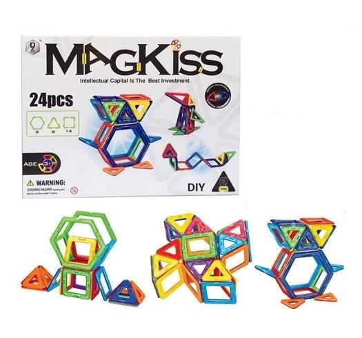 MAGKISS 24 delig - magnetisch constructie speelgoed
