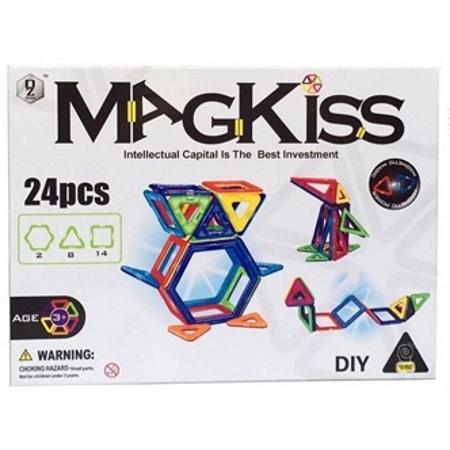 MAGKISS 24 delig - magnetisch constructie speelgoed-1
