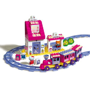 hello kitty duplo trein station - 1