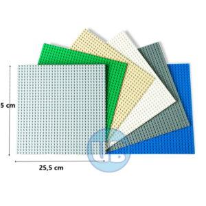 lego bouwplaat - basisplaat- 6 kleuren
